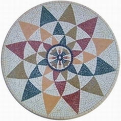 STARFLOWER MARBLE MOSAIC