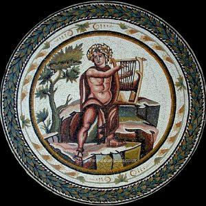 ORPHEUS MARBLE MOSAIC
