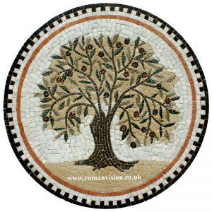 OLIVE TREE MOSAIC