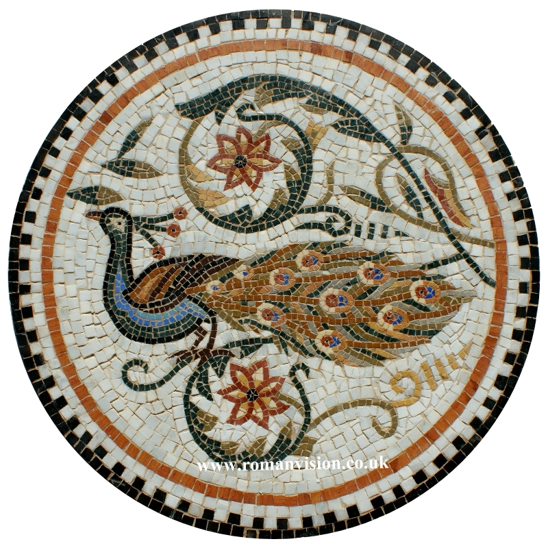 """<a href=""""https://romanvision.co.uk/product/nine-tiny-dolphins-mosaic-made-to-order/"""">PEACOCK MOSAIC</a>"""