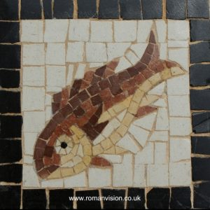 FISH MOSAIC COASTER