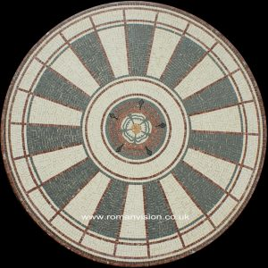THE ROUND TABLE MARBLE MOSAIC