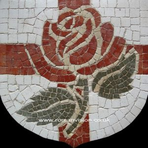 ENGLISH ROSE MOSAIC
