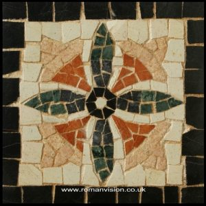 STARFLOWER MOSAIC COASTER