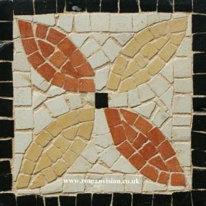 FOUR LEAVES MOSAIC COASTER